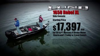 Lund Boats 1650 Rebel XL TV Spot, 'True to Tradition'