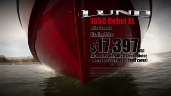 Lund Boats 1650 Rebel XL TV Spot, 'True to Tradition' - Thumbnail 3