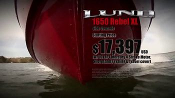 Lund Boats 1650 Rebel XL TV Spot, 'True to Tradition' - Thumbnail 4
