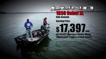 Lund Boats 1650 Rebel XL TV Spot, 'True to Tradition' - Thumbnail 8