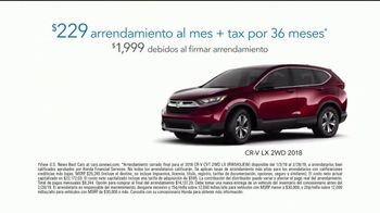 2018 Honda CR-V TV Spot, 'Momentos de ayuda: Food Bank' [Spanish] [T2] - Thumbnail 7