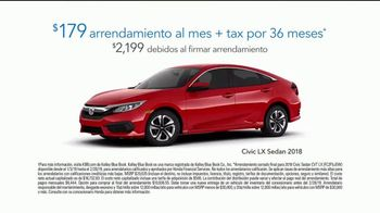 2018 Honda Civic LX Sedan TV Spot, 'Wedding Dress' [Spanish] [T2] - Thumbnail 6