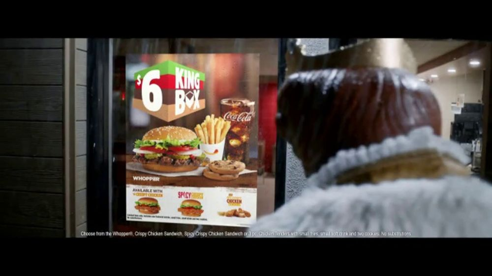 Burger King 6 King Box Tv Commercial All By Yourself Song By Eric Carmen Ispot Tv