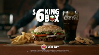 Burger King $6 King Box TV Spot, 'All By Yourself' Song by Eric Carmen - Thumbnail 10