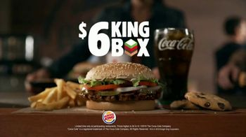 Burger King $6 King Box TV Spot, 'All By Yourself' Song by Eric Carmen - Thumbnail 8