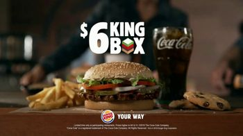 Burger King $6 King Box TV Spot, 'All By Yourself' Song by Eric Carmen - Thumbnail 9