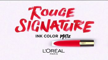 L'Oreal Paris Rouge Signature TV Spot, 'Sensación natural' [Spanish] - Thumbnail 2