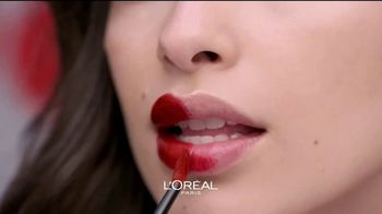 L'Oreal Paris Rouge Signature TV Spot, 'Sensación natural' [Spanish] - Thumbnail 3