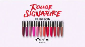 L'Oreal Paris Rouge Signature TV Spot, 'Sensación natural' [Spanish] - Thumbnail 9