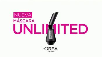 L'Oreal Paris Unlimited Mascara TV Spot, 'Estira, dobla y levanta' [Spanish] - Thumbnail 9