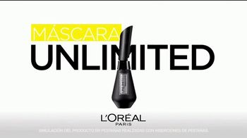 L'Oreal Paris Unlimited Mascara TV Spot, 'Estira, dobla y levanta' [Spanish] - Thumbnail 3