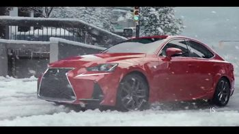 Lexus TV Spot, 'Weather the Weather' [T1] - 1 commercial airings