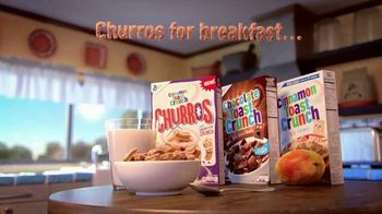 Cinnamon Toast Crunch Churros TV Spot, 'For Anytime' - Thumbnail 10