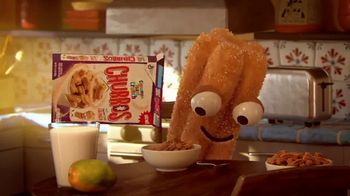 Cinnamon Toast Crunch Churros TV Spot, 'For Anytime'