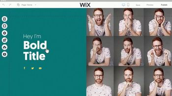 Wix.com TV Spot, 'Create Your Professional Website'