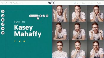 Wix.com TV Spot, 'Create Your Professional Website' Featuring Kasey Mahaffy - Thumbnail 4