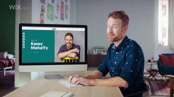 Wix.com TV Spot, 'Create Your Professional Website' Featuring Kasey Mahaffy