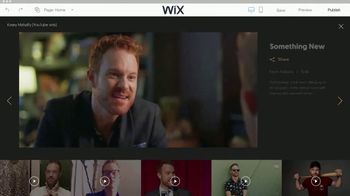 Wix.com TV Spot, 'Create Your Professional Website' Featuring Kasey Mahaffy - Thumbnail 7