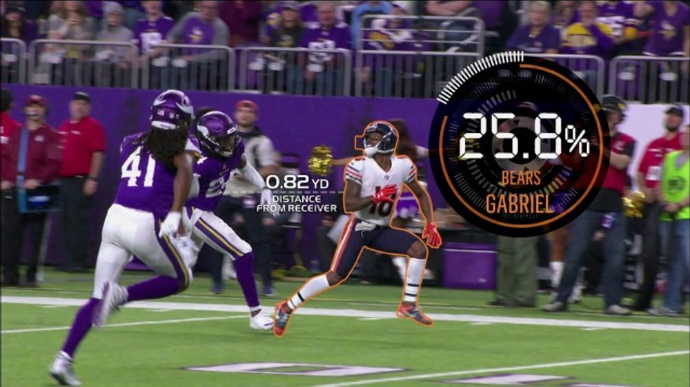 new arrival 6f837 4c534 Amazon Web Services TV Commercial, 'Next Gen Stats: Bears Touchdown' - Video