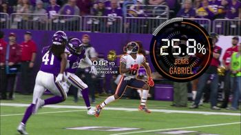 Amazon Web Services TV Spot, 'Next Gen Stats: Bears Touchdown' - 1 commercial airings