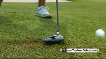 Revolution Golf Teeless Driver TV Spot, 'Impressed' Featuring Notah Begay III