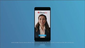 TurboTax Live TV Spot, 'CPAs on Demand'