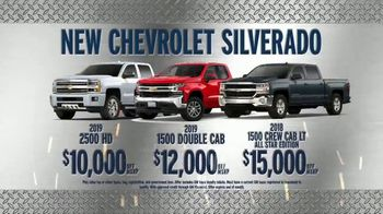 AutoNation New Year New Truck Event TV Spot, 'Chevrolet Silverado'