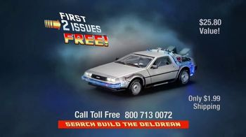Back to the Future Delorean TV Spot, 'Build the Delorean' - Thumbnail 8
