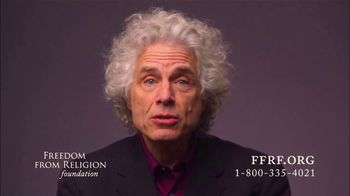 Freedom from Religion Foundation TV Spot, 'Driven by Reason' Featuring Steven Pinker - Thumbnail 5