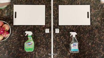 Lysol Daily Cleanser TV Spot, 'Bleach Indicator Test' - Thumbnail 1