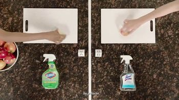 Lysol Daily Cleanser TV Spot, 'Bleach Indicator Test' - Thumbnail 2