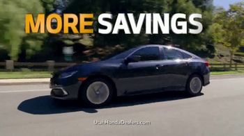 Honda Get More Save More Sales Event TV Spot, 'More Tech, Safety & Savings' [T2] - Thumbnail 5