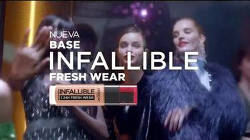 L'Oreal Paris Infallible Fresh Wear Foundation TV Spot, 'No te pesará' canción de Queen [Spanish] - Thumbnail 9