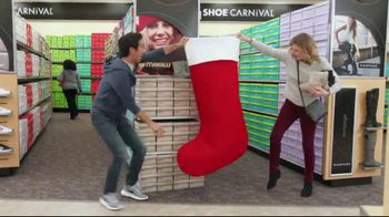 Shoe Carnival TV Spot, 'Merry Stocking Up'