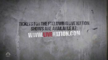 Live Nation TV Spot, 'Last Call With Carson Daly: Tickets for Shows'