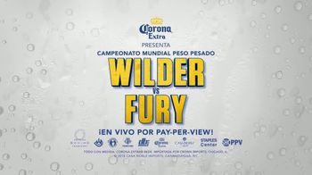Showtime Pay-Per-View TV Spot, \'Corona Extra presenta: Wilder vs. Fury\' [Spanish]