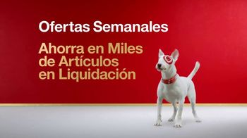 Target TV Spot, 'Ofertas semanales: artículos en venta' [Spanish] - 265 commercial airings