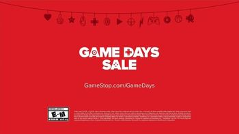 GameStop Game Days Sale TV Spot, 'Whole Games, Half Price' - Thumbnail 10