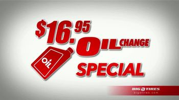 Big O Tires $16.95 Oil Change Special TV Spot, 'Wow That's Big'