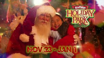 Six Flags Holiday in the Park TV Spot, 'Spectacular Lights'