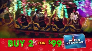 Six Flags Holiday in the Park TV Spot, 'Spectacular Lights' - Thumbnail 6