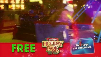 Six Flags Holiday in the Park TV Spot, 'Spectacular Lights' - Thumbnail 9