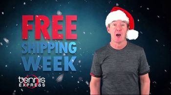 Tennis Express Free Shipping Week TV Spot, 'Holidays: Your Favorite Brands'