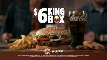 Burger King $6 King Box TV Spot, 'More Bang for Your Buck' - Thumbnail 10