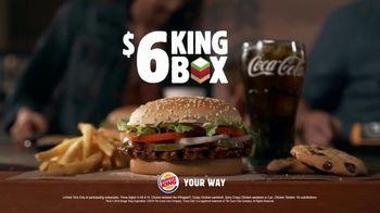 Burger King $6 King Box TV Spot, 'More Bang for Your Buck' - Thumbnail 9