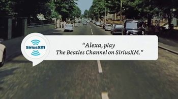 SiriusXM Satellite Radio TV Spot, 'Alexa: The Beatles Channel'