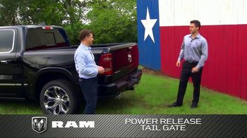 2019 Ram 1500 TV Spot, 'Impressive Truck: Power Release Tail Gate and Air Suspension' [T2]
