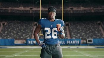 Dunkin' Donuts $2 Medium Cappuccinos and Lattes TV Spot, 'Huge' Featuring Saquon Barkley - Thumbnail 2
