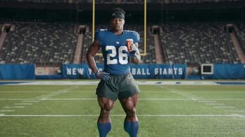 Dunkin' Donuts $2 Medium Cappuccinos and Lattes TV Spot, 'Huge' Featuring Saquon Barkley