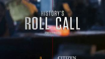 Citizen Watch TV Spot, 'History's Roll Call: Forged in Fire' - Thumbnail 1